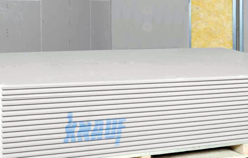 Γυψοσανίδα KNAUF standard A (GKB)